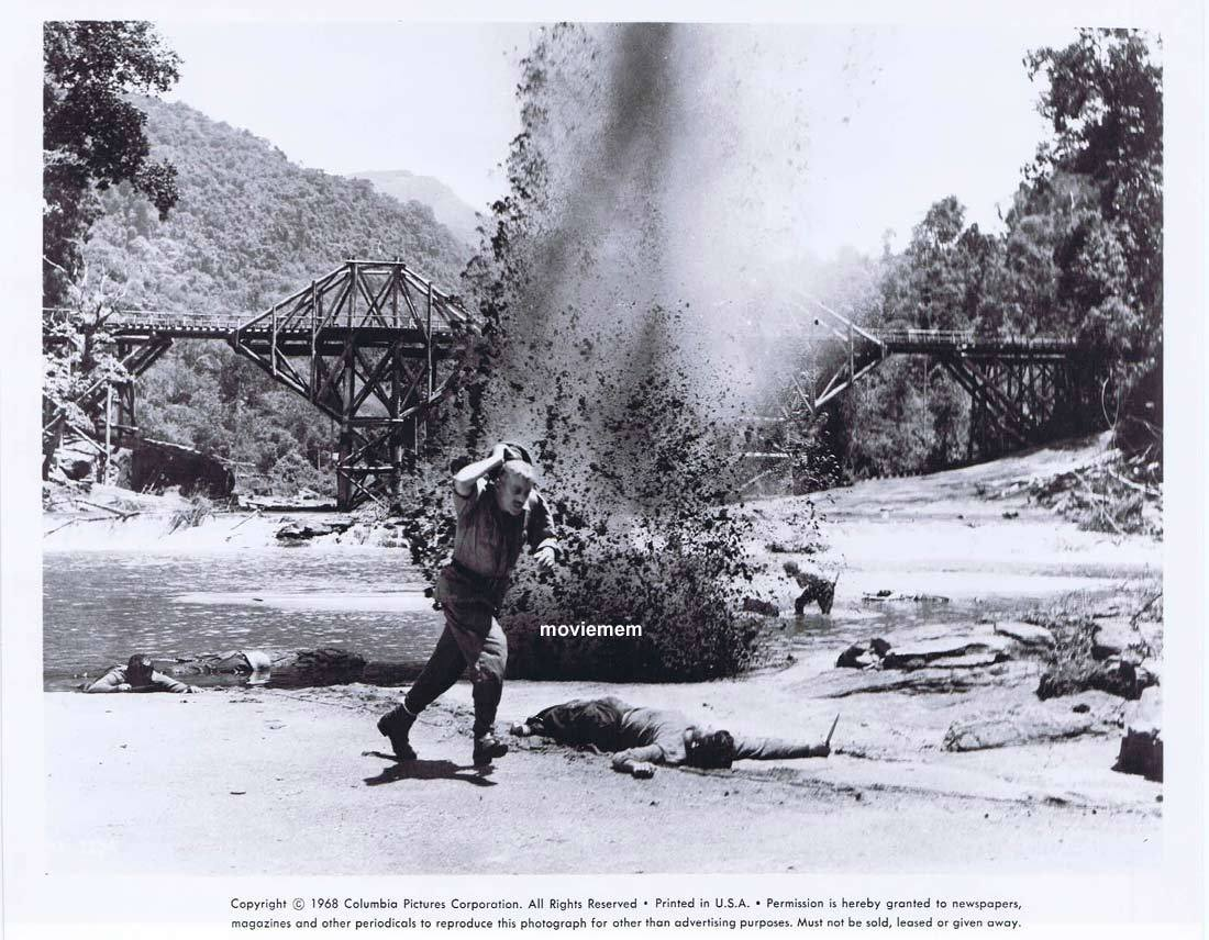 BRIDGE ON THE RIVER KWAI Vintage Movie Still 15 William Holden Alec Guinness