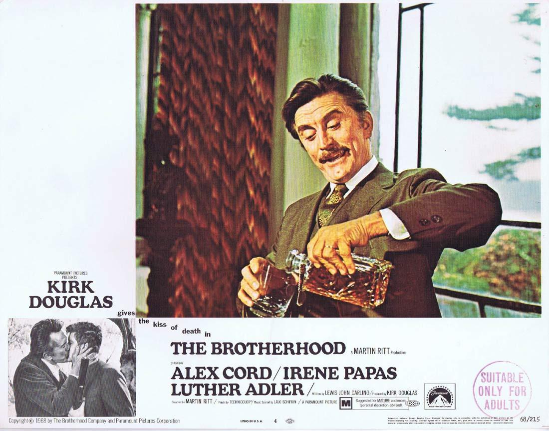THE BROTHERHOOD Original Lobby Card 4 Kirk Douglas Alex Cord