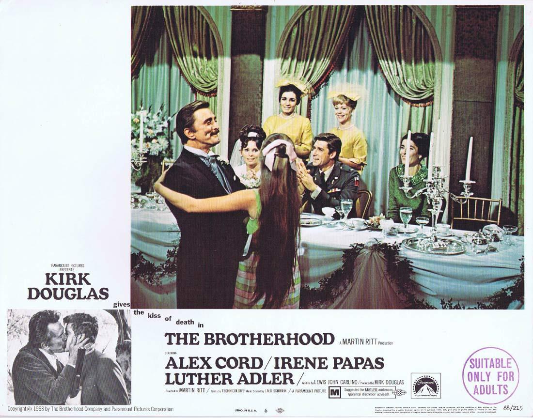 THE BROTHERHOOD Original Lobby Card 5 Kirk Douglas Alex Cord