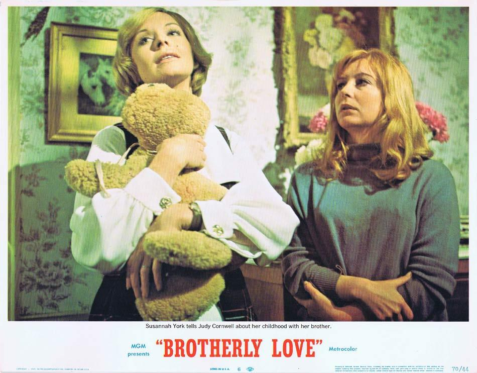 BROTHERLY LOVE Lobby Card 6 Peter O'Toole Susannah York Michael Craig