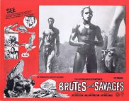 BRUTES AND SAVAGES Rare Australian Lobby Card 4 Arthur Davis Expedition