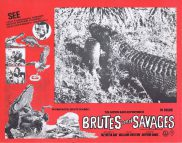 BRUTES AND SAVAGES Rare Australian Lobby Card 7 Arthur Davis Expedition