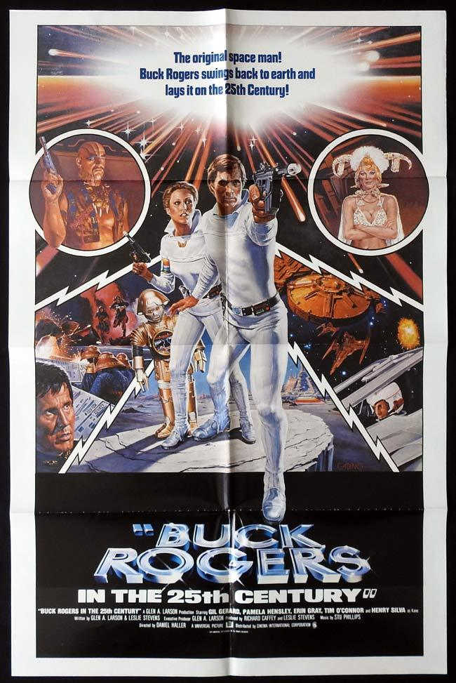 BUCK ROGERS IN THE 25TH CENTURY Original One sheet Movie poster Gil Gerard Sci Fi