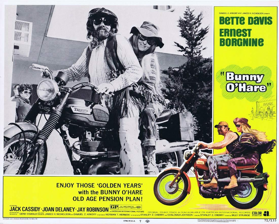 BUNNY O'HARE Lobby Card 7 Bette Davis Ernest Borgnine Jack Cassidy