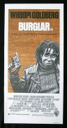 BURGLAR Original Daybill Movie Poster Whoopi Goldberg Bobcat Goldthwait.