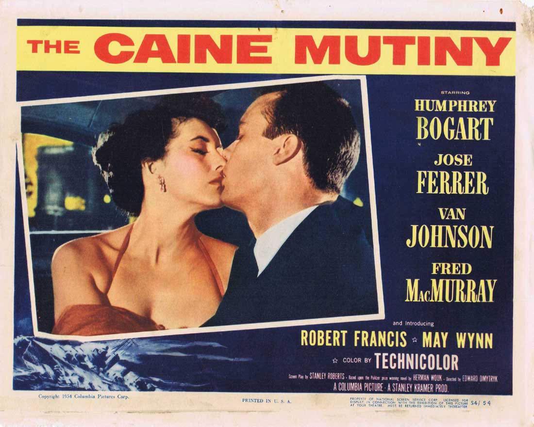 THE CAINE MUTINY Lobby Card 3 Humphrey Bogart José Ferrer Fred MacMurray