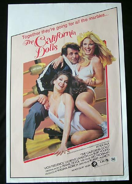 CALIFORNIA DOLLS Original US One sheet Movie poster
