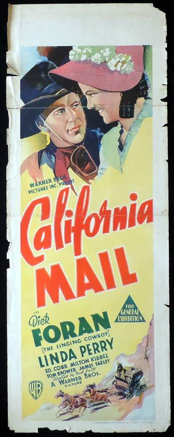 California Mail, Noel M. Smith, Dick Foran