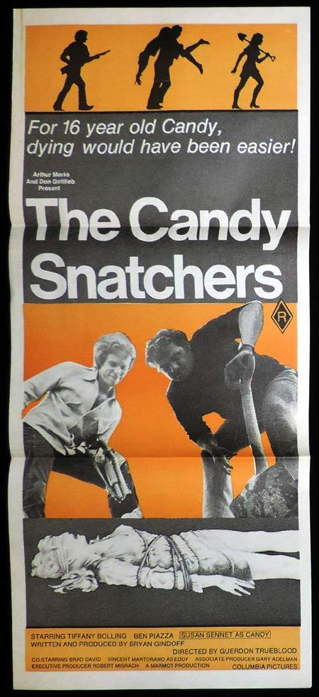 THE CANDY SNATCHERS Original Daybill Movie Poster Tiffany Bolling