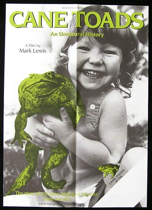 CANE TOADS: AN UNNATURAL HISTORY '88 Australian Film poster