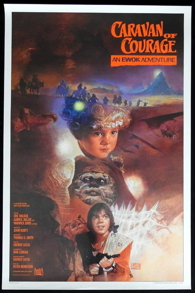 CARAVAN OF COURAGE Original US One sheet Movie Poster Style A