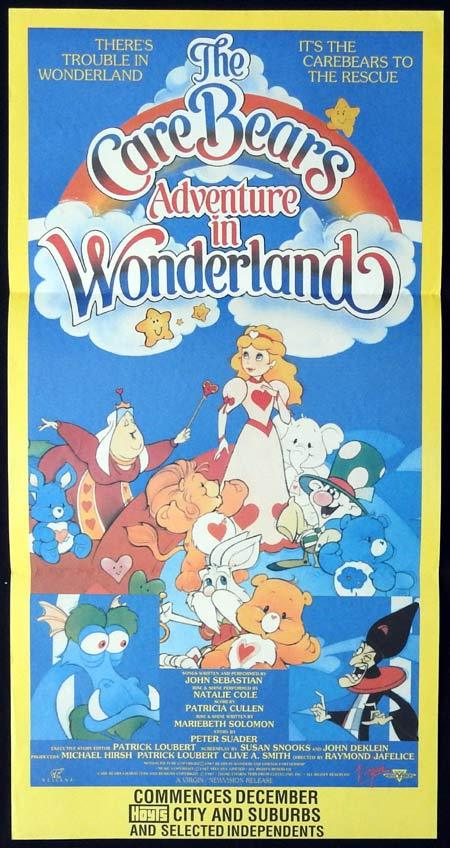 The Care Bears Adventure in Wonderland, Raymond Jafelice, Bob Dermer, Eva Almos, Dan Hennessey, Jim Henshaw, Marla Lukofsky, Luba Goy, Keith Knight, Tracey Moore, Colin Fox, John Stocker, Don McManus, Elizabeth Hanna, Alan Fawcett, Keith Hampshire, Alyson Court