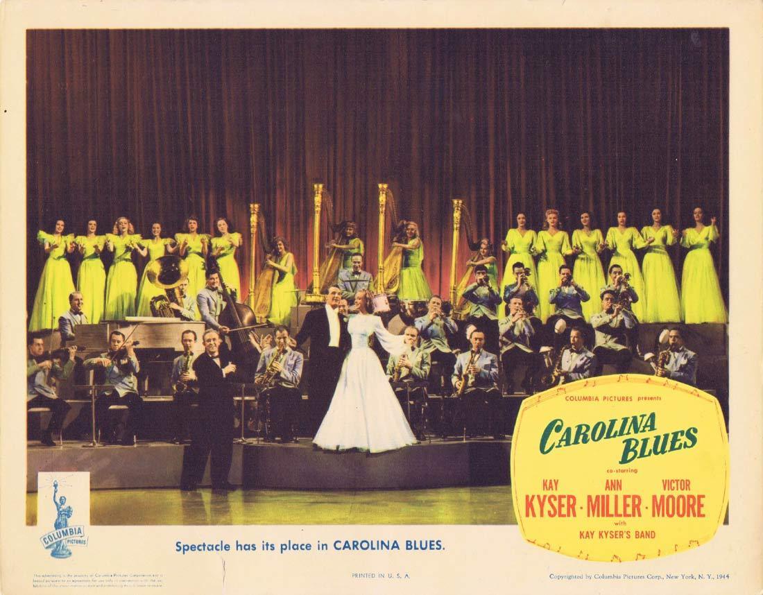 CAROLINA BLUES Original Lobby Card 2 Kay Kyser Ann Miller Victor Moore