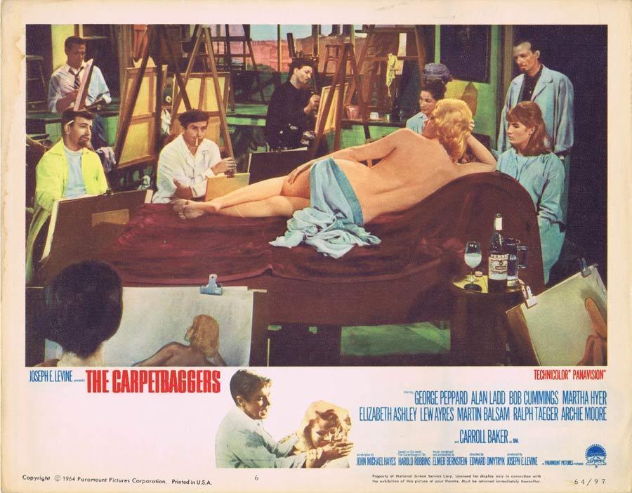 THE CARPETBAGGERS Lobby Card 6 Carroll Baker