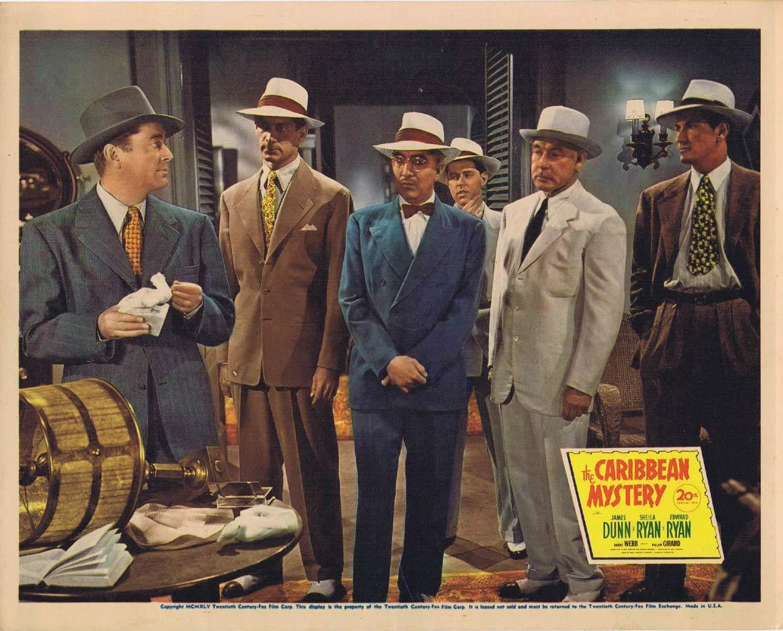 THE CARIBBEAN MYSTERY Lobby Card 3 Sheila Ryan James Dunn Edward Ryan