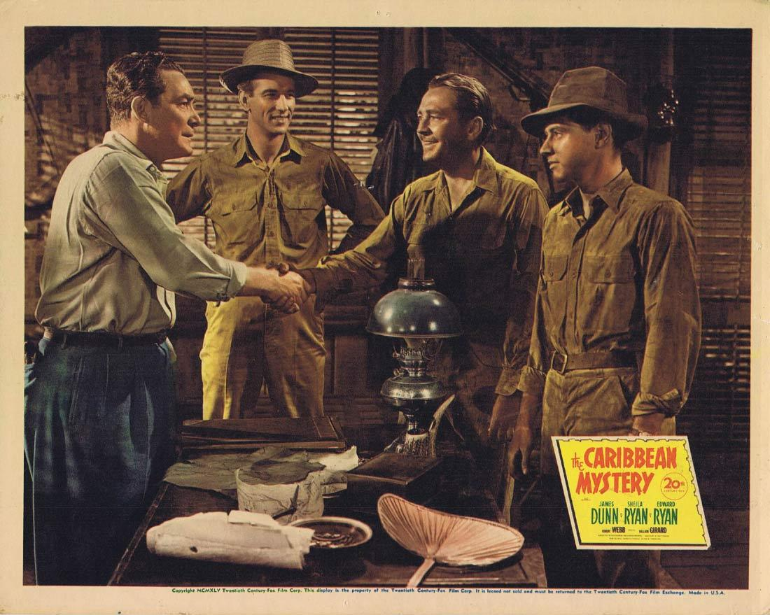 THE CARIBBEAN MYSTERY Lobby Card 4 Sheila Ryan James Dunn Edward Ryan