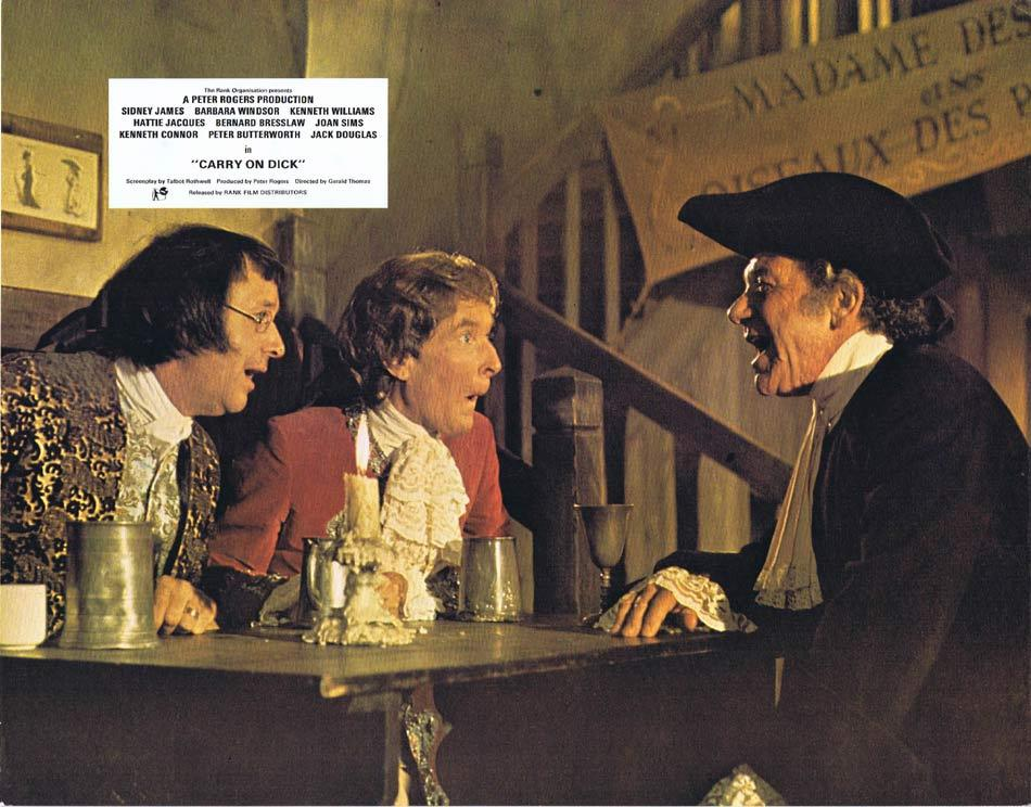 CARRY ON DICK Lobby card 7 Sid James Jack Douglas Kenneth Williams