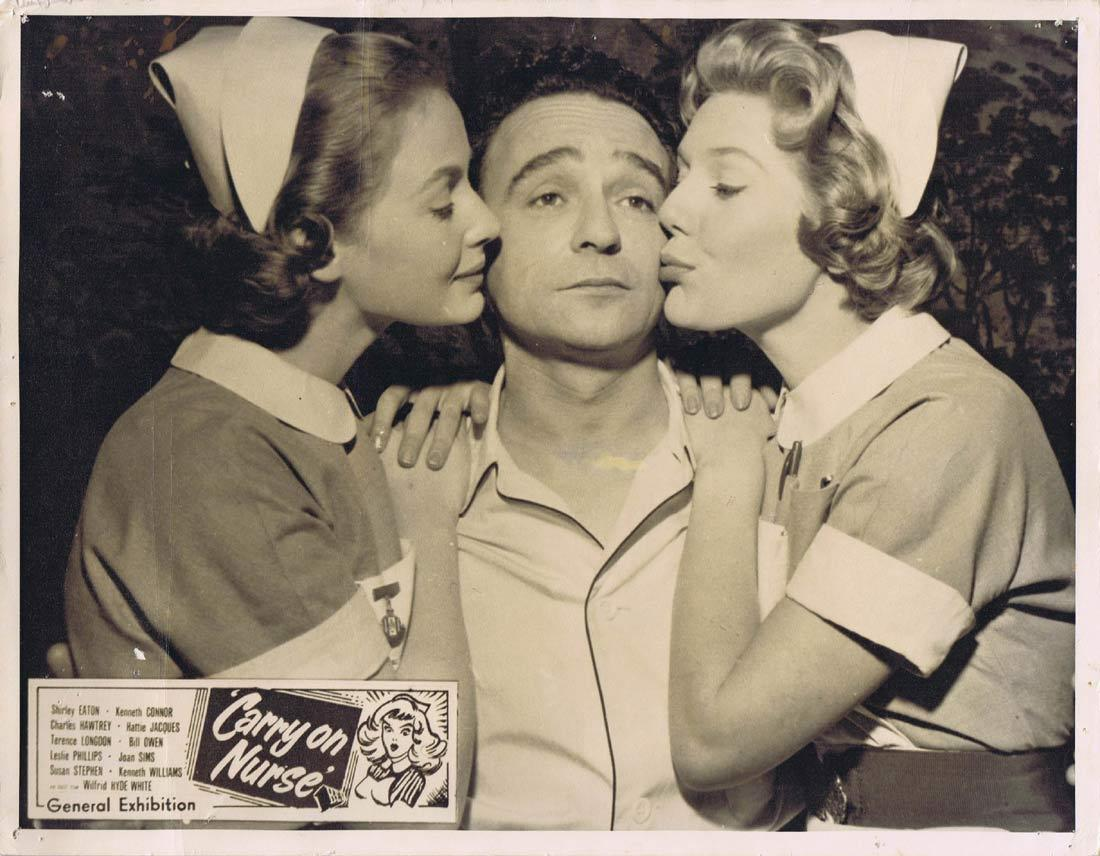 CARRY ON NURSE Australian Lobby Card Joan Sims Kenneth Williams Kenneth Connor
