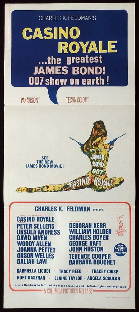 CASINO ROYALE Original Daybill Movie poster James Bond Classic image