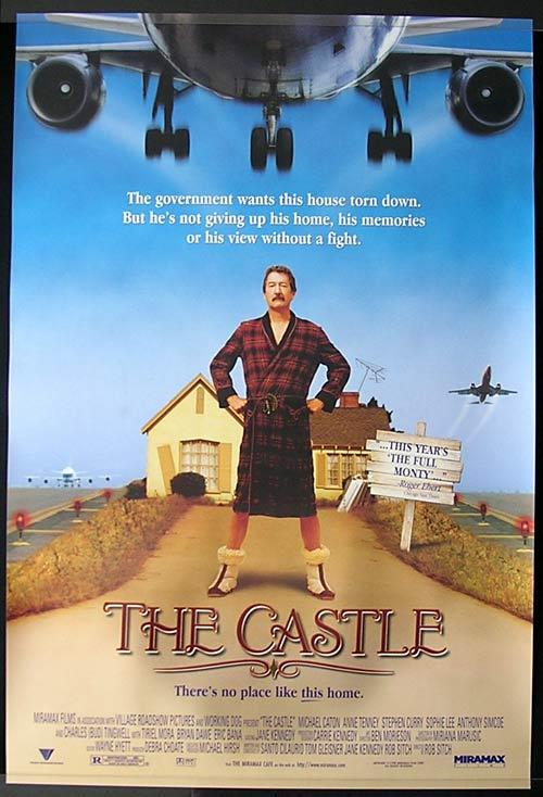THE CASTLE Original US one sheet Movie poster Michael Caton Eric Bana