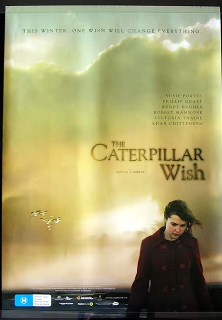 THE CATERPILLAR WISH Movie Poster 2006 Victoria Thaine Australian one sheet