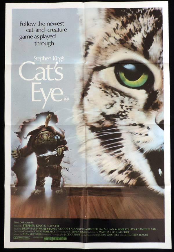 CAT'S EYE One Sheet Movie Poster Stephen King