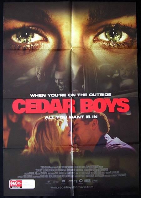CEDAR BOYS Movie Poster 2009 Rachael Taylor Australian One sheet