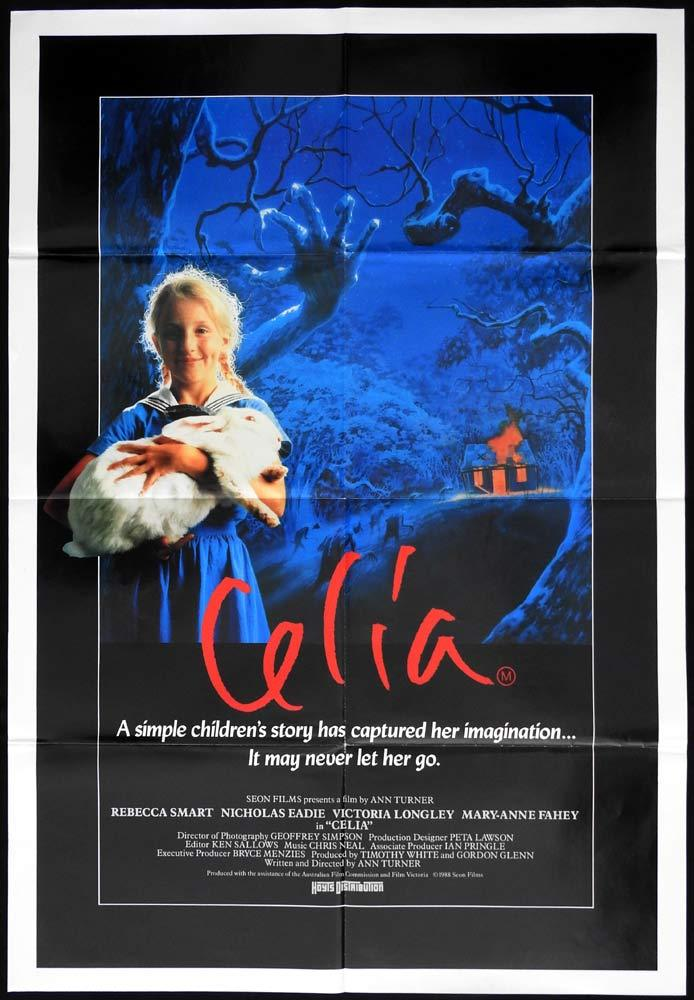 CELIA Original One sheet Movie poster Rebecca Smart Nicholas Eadie