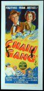 CHAIN GANG Original LINEN BACKED Australian Daybill Movie poster Film Noir