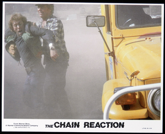 CHAIN REACTION, The 1980 Steve Bisley VERY RARE US Movie Still 1