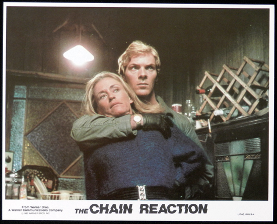 CHAIN REACTION, The 1980 Steve Bisley VERY RARE US Movie Still 3