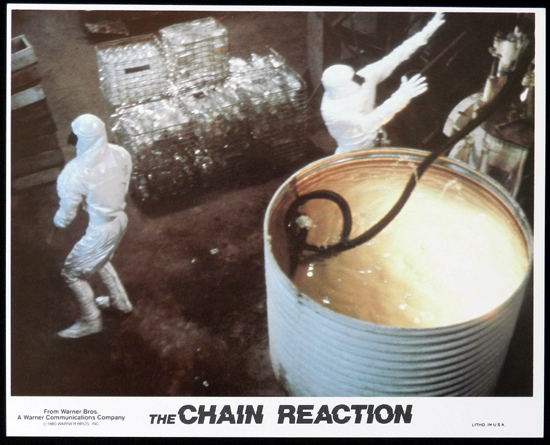 CHAIN REACTION, The 1980 Steve Bisley VERY RARE US Movie Still 5