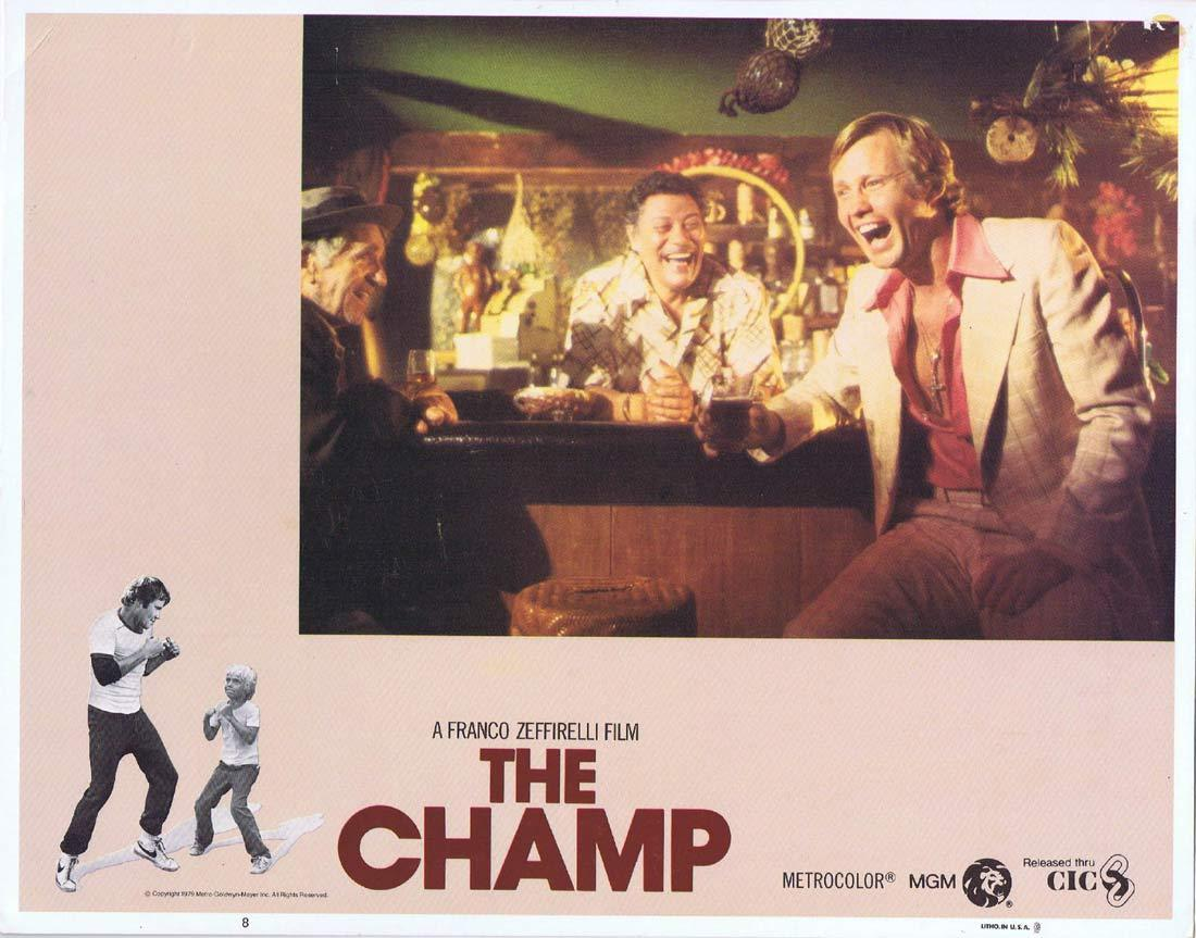 THE CHAMP Vintage Lobby Card 8 Jon Voight Faye Dunaway