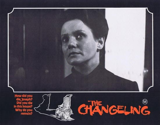 THE CHANGELING 1980 George C.Scott HORROR Lobby Card 2