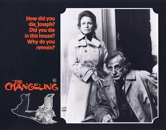 THE CHANGELING 1980 George C.Scott HORROR Lobby Card 3