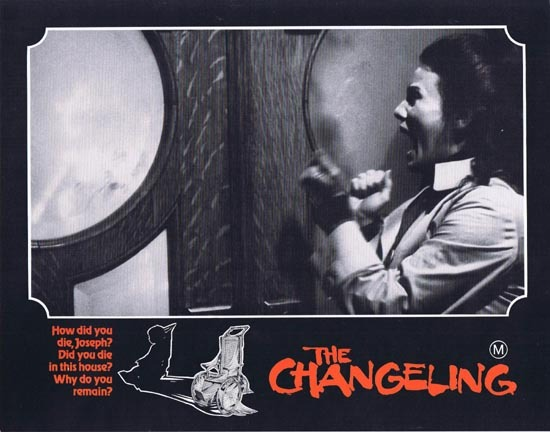 THE CHANGELING 1980 George C.Scott HORROR Lobby Card 4