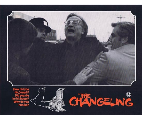 THE CHANGELING 1980 George C.Scott HORROR Lobby Card 8