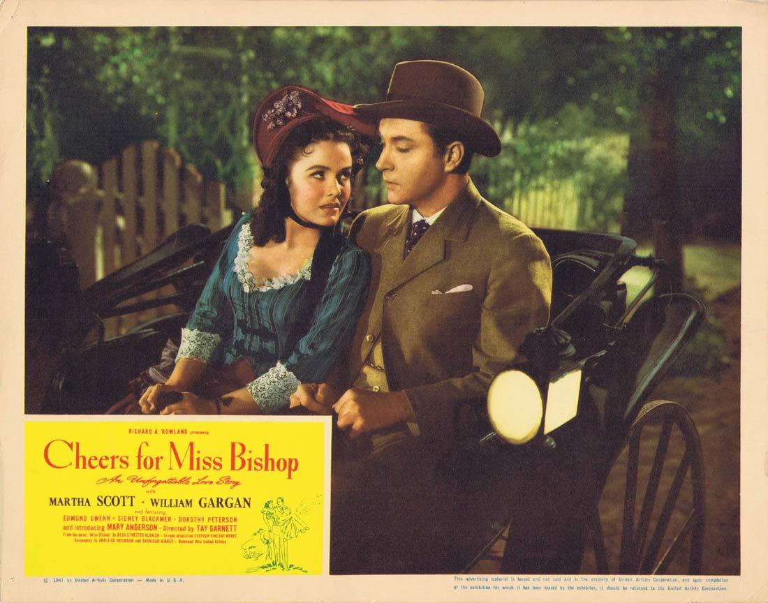 CHEERS FOR MISS BISHOP Lobby Card 4 Martha Scott William Gargan Edmund Gwenn