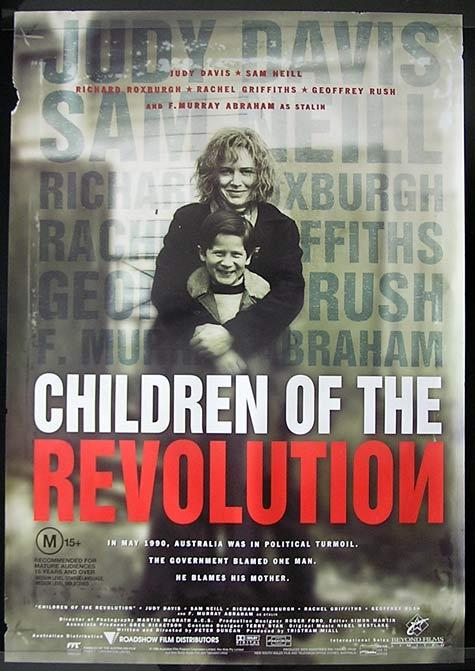 CHILDREN OF THE REVOLUTION Richard Roxburgh Australian One Sheet Movie Poster