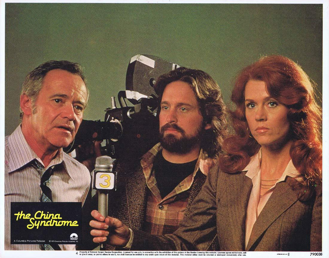 THE CHINA SYNDROME Lobby Card 4 Jane Fonda Jack Lemmon