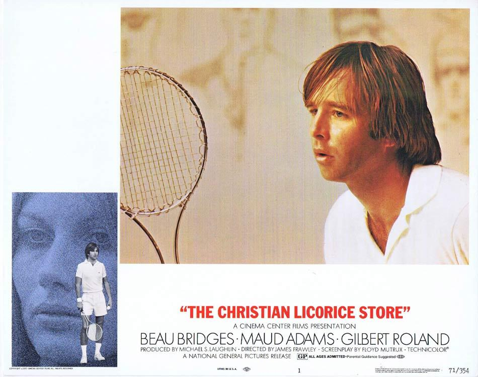 THE CHRISTIAN LICORICE STORE Lobby Card 1 Beau Bridges Maud Adams