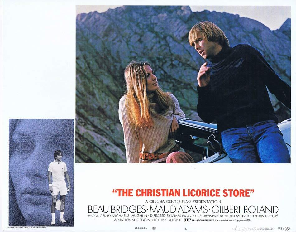 THE CHRISTIAN LICORICE STORE Lobby Card 4 Beau Bridges Maud Adams