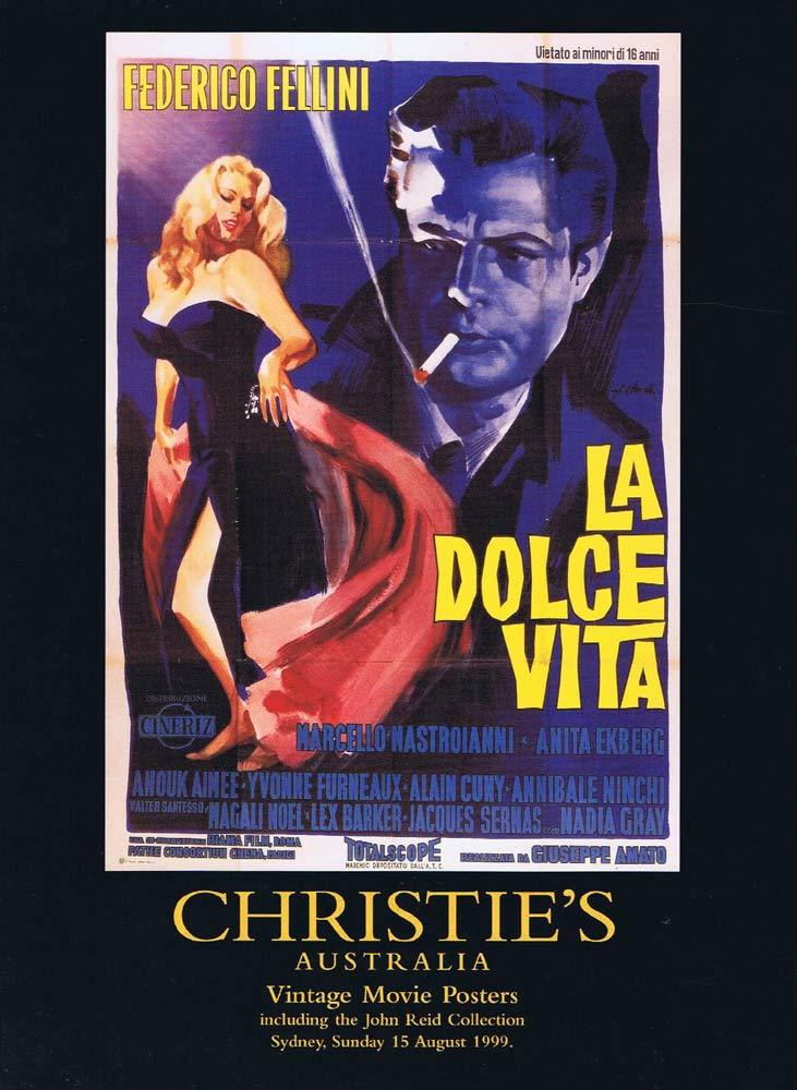 CHRISTIES AUSTRALIA 1999 Movie Poster Auction catalogue rare Daybill Collection