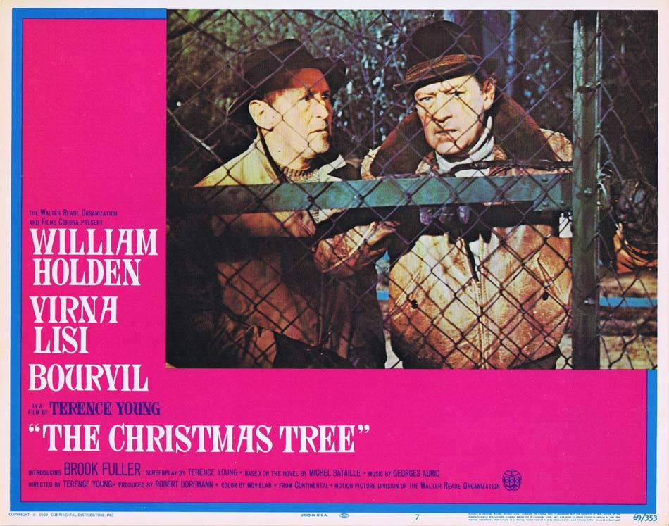 THE CHRISTMAS TREE Lobby Card 7 William Holden Virna Lisi Terence Young