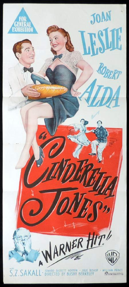 CINDERELLA JONES Original Daybill Movie Poster Busby Berkeley.
