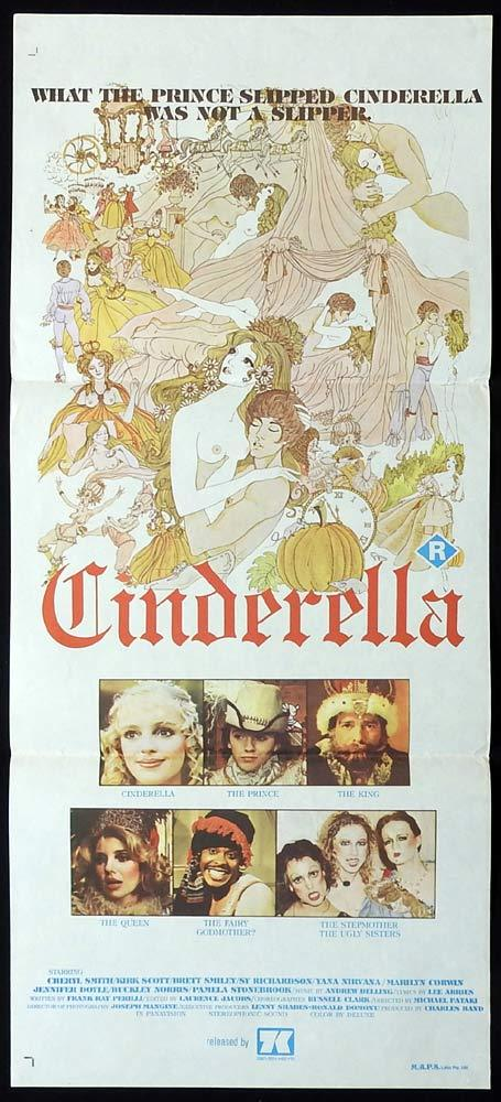 CINDERELLA Original Daybill Movie Poster Cheryl Smith Sexploitation