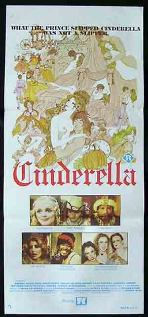 CINDERELLA '77-Cheryl Smith Sexploitation poster