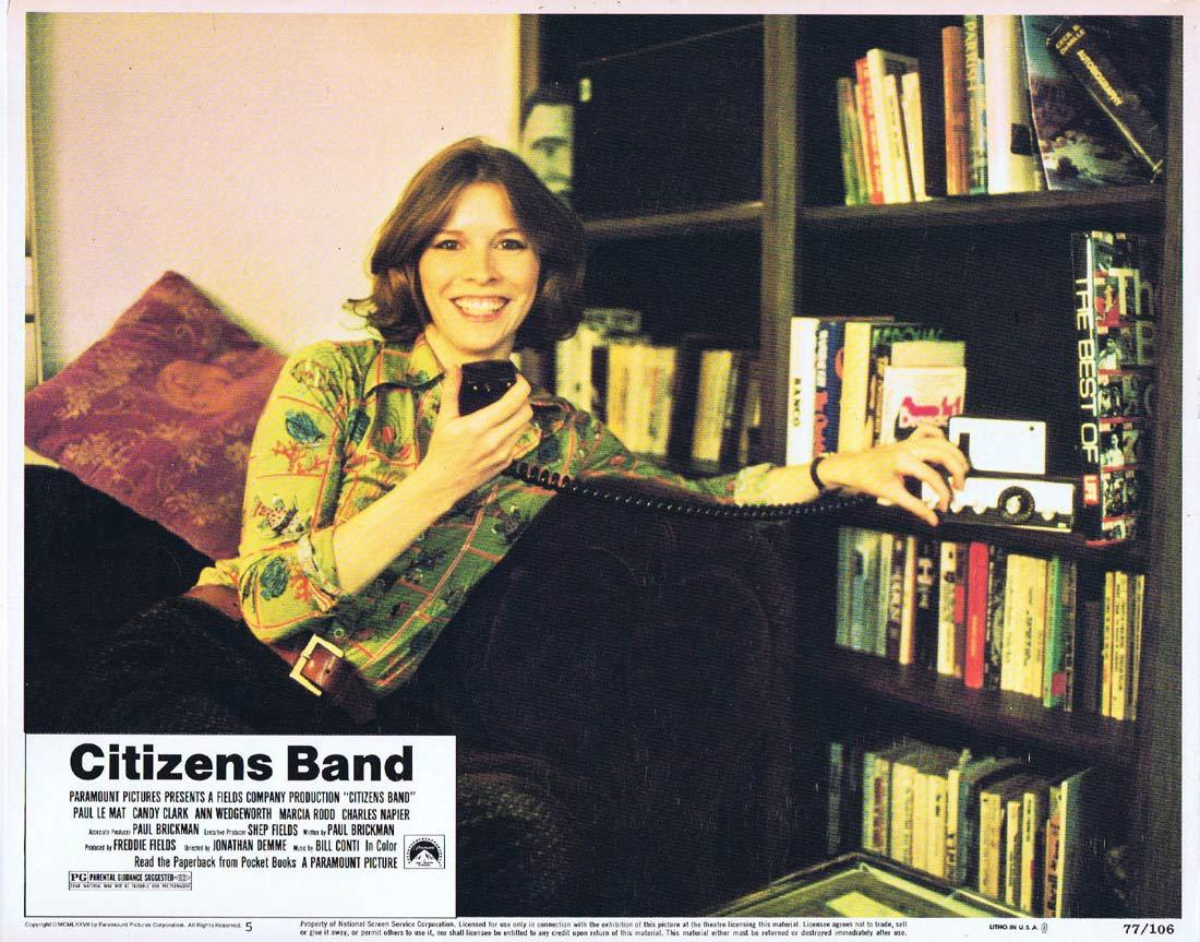 CITIZENS BAND Original Lobby Card 5 Candy Clark Paul Le Mat