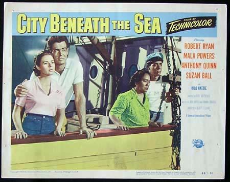 CITY BENEATH THE SEA '53-Robert Ryan ORIGINAL US Lobby card #8