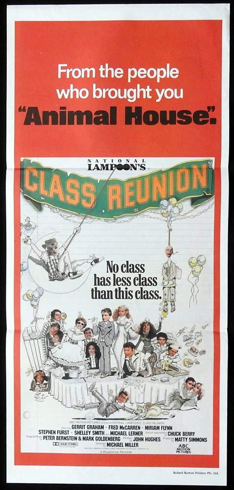 CLASS REUNION Original Daybill Movie Poster Gerrit Graham Michael Lerner
